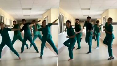 #WhyShouldntMedicosDance: Doctors From Kolam Govt Medical College Dance to the Tunes of 'Let the Music Play' to Support Naveen K Razak & Janaki Omkumar's Viral Video That Was Trolled